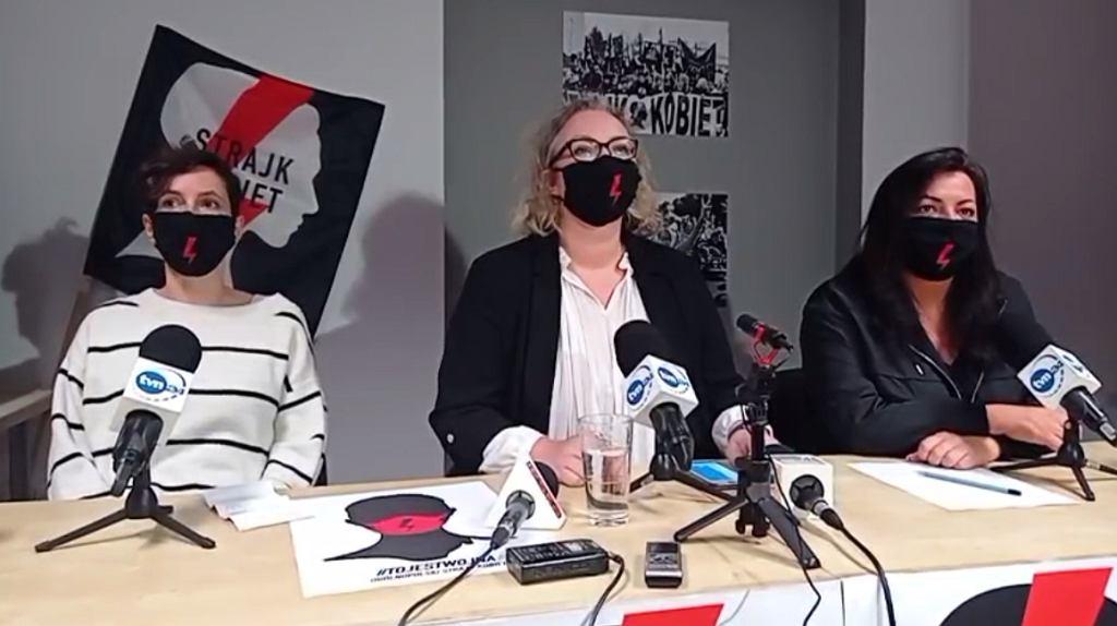 Liderki Strajku Kobiet