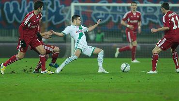 Lechia Gdańsk - Wisła Kraków 0:0. W środku Maciej Makuszewski