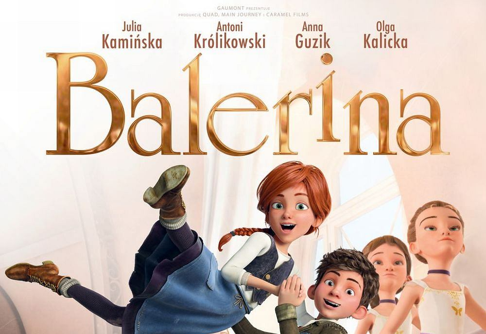 Plakat do filmu Balerina