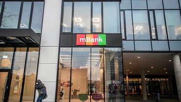 Siedzba mBanku w Łodzi.