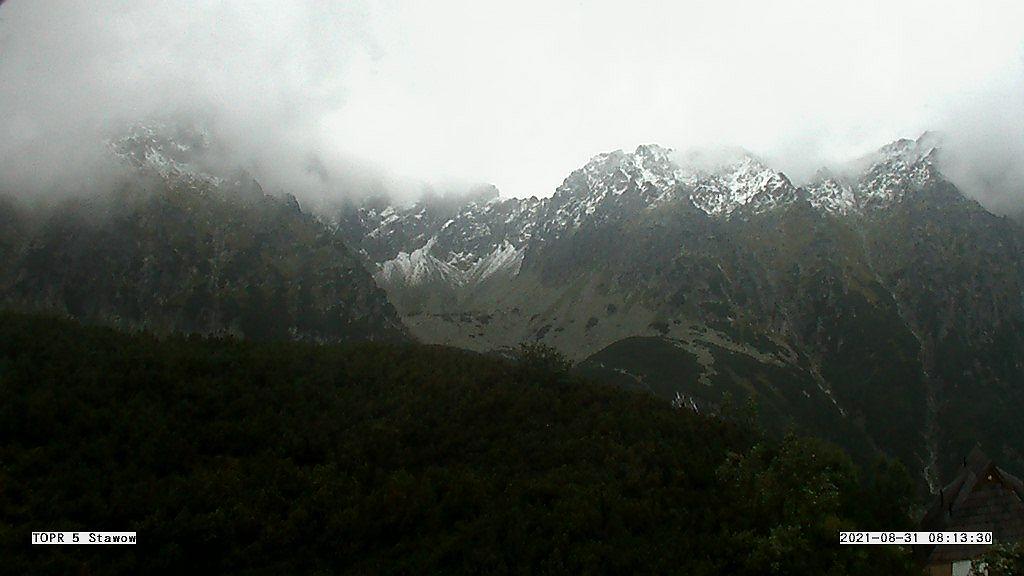 Dolina Pięciu Stawów Polskich - Buczynowa Dolina - widok z kamery TOPR