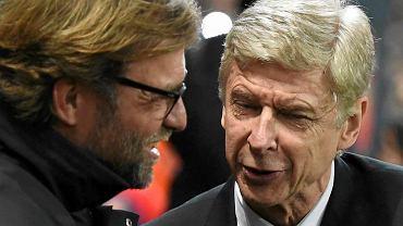 Juergen Klopp i Arsene Wenger