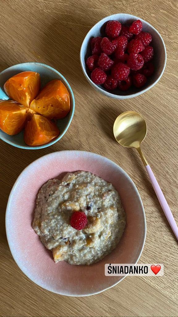 Ewa Szabatin pokazała śniadanie