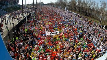 Tak było przed startem zeszłorocznego ORLEN Warsaw Marathon
