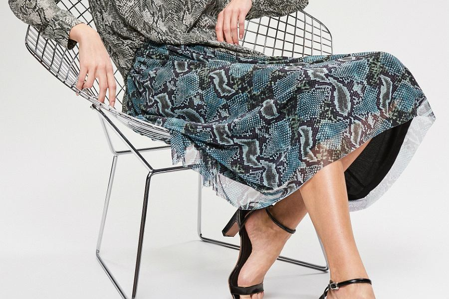 spódnica we wzory