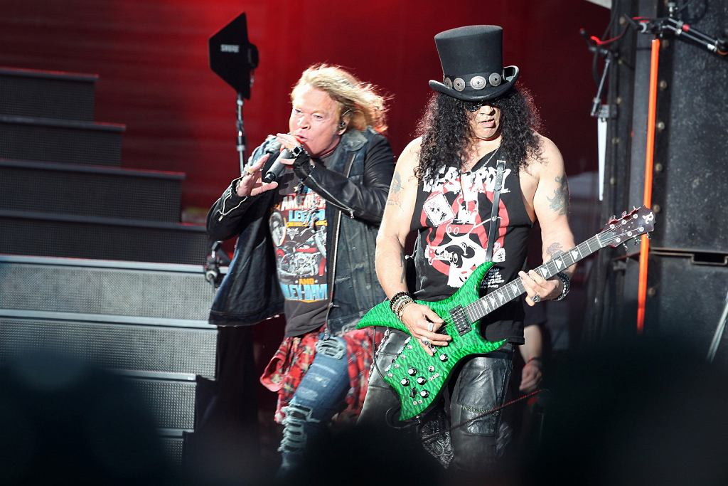 &Guns N Roses koncert w Nowej Zelandii