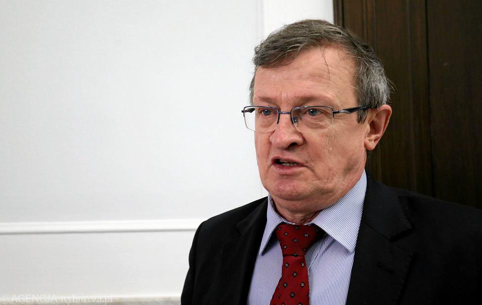 Poseł Tadeusz Cymański