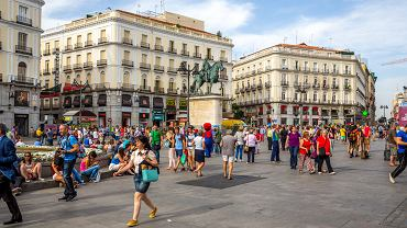 Turyści w Madrycie