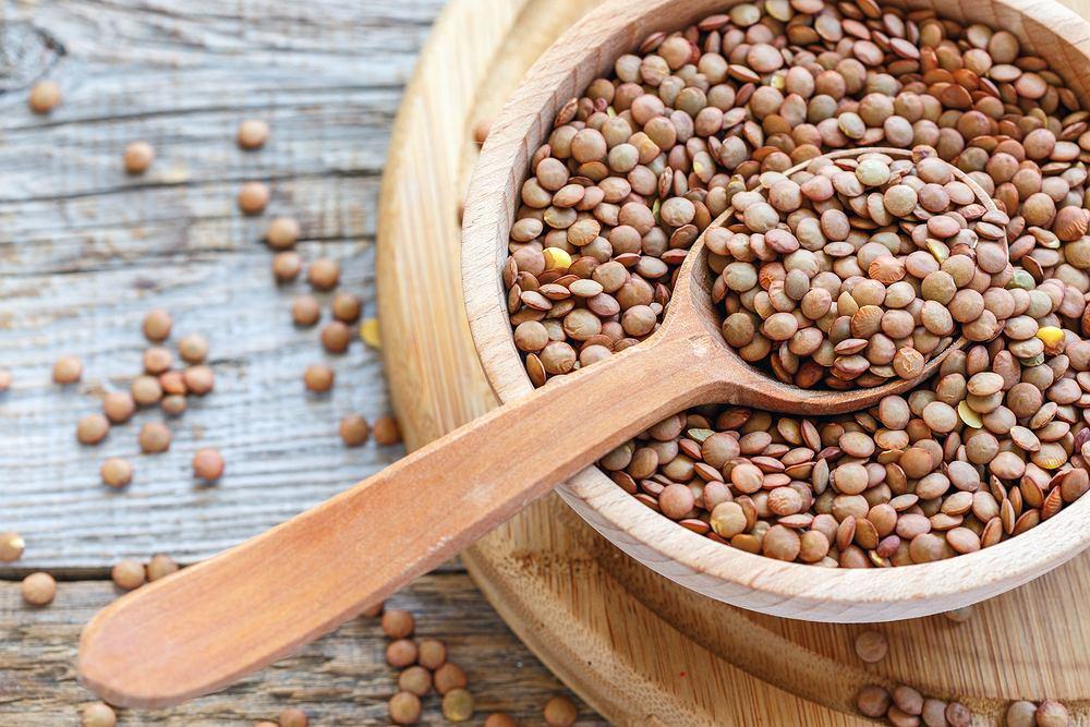 Soczewica ze względu to sporą zawartość wartościowego białka, może stanowić alternatywę dla mięsa