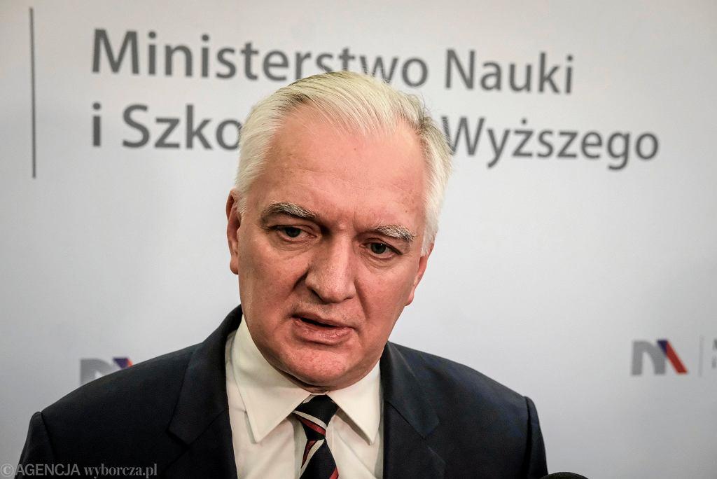 PWK odrzuciła sprawozdanie partii Jarosława Gowina (zdjęcie ilustracyjne)