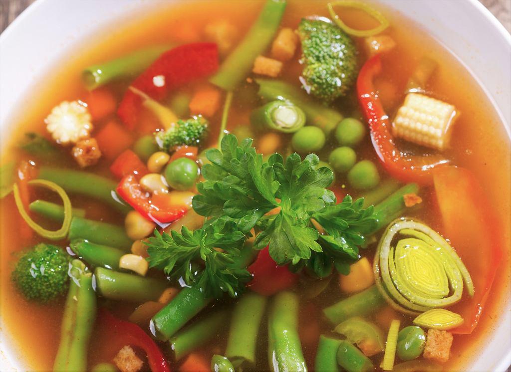 Zupa z fasolki szparagowej. Zdj. ilustracyjne