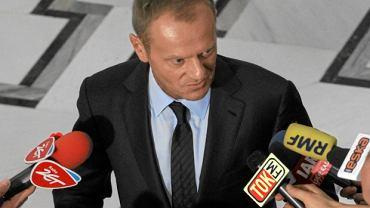 Donald Tusk w Sejmie