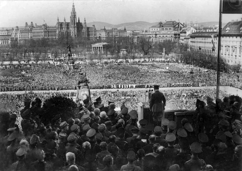 Przemówienie Adolfa Hitlera w Wiedniu 15 marca 1938 r.