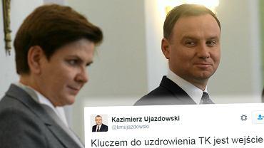 Andrzej Duda, Beata Szydło