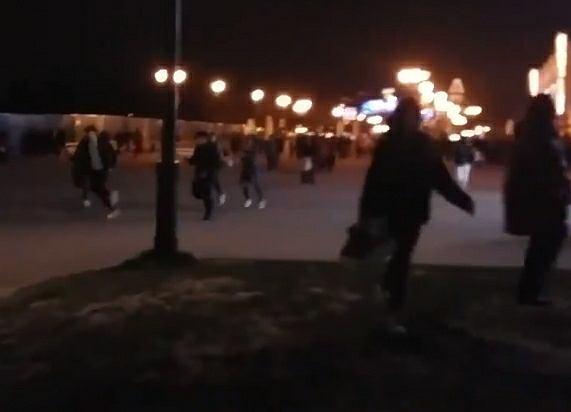 Panika w Disneylandzie w Paryżu