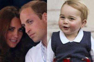 Księżna Kate i książę William, książę Jerzy