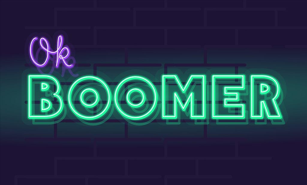 'OK, boomer' - sarkastyczne hasło, którym młodzi odpłacają się starszym za lata protekcjonalnego traktowania