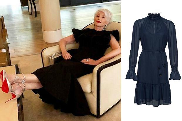 50ff9c1e6b Sukienki dla dojrzałych kobiet  piękne modele na co dzień i na ...