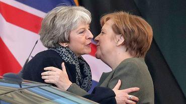 Theresa May i Angela Merkel, 9.04.2019.