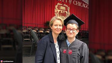 Cynthia Nixon i jej transpłciowy syn Samuel
