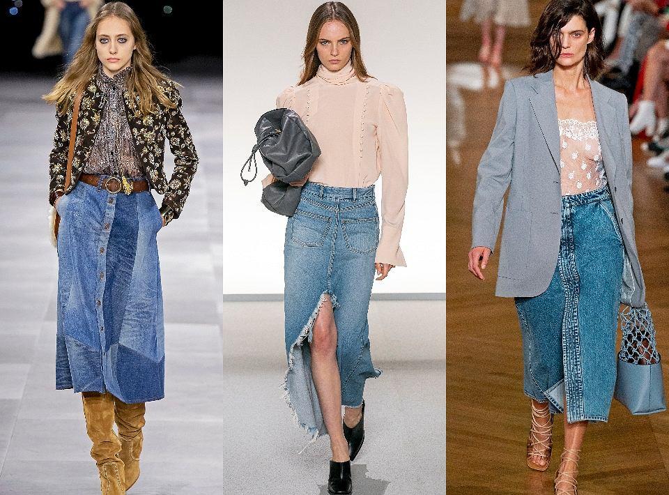 Od lewej: Celine, Givenchy, Stella McCartney