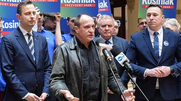 Konferencja prasowa Władysława Kosiniaka-Kamysza we Wrocławiu
