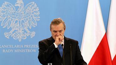 Wicepremier, minister kultury w rządzie PiS Robert Gliński
