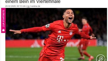 Gnabry i Lewandowski bohaterami Bayernu