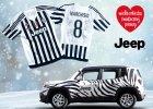 Jeep przekazuje koszulkę Juventusu na WOŚP