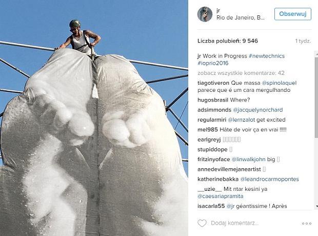 Zdjęcie numer 2 w galerii - Na ulicach Rio de Janeiro pojawiły się niezwykłe instalacje