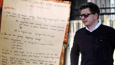 Filip Chajzer dostał list