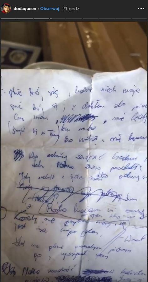 Rękopis utworu 'Nie daj się'