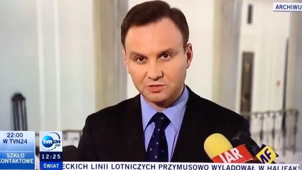 Andrzej Duda w 2011 r.