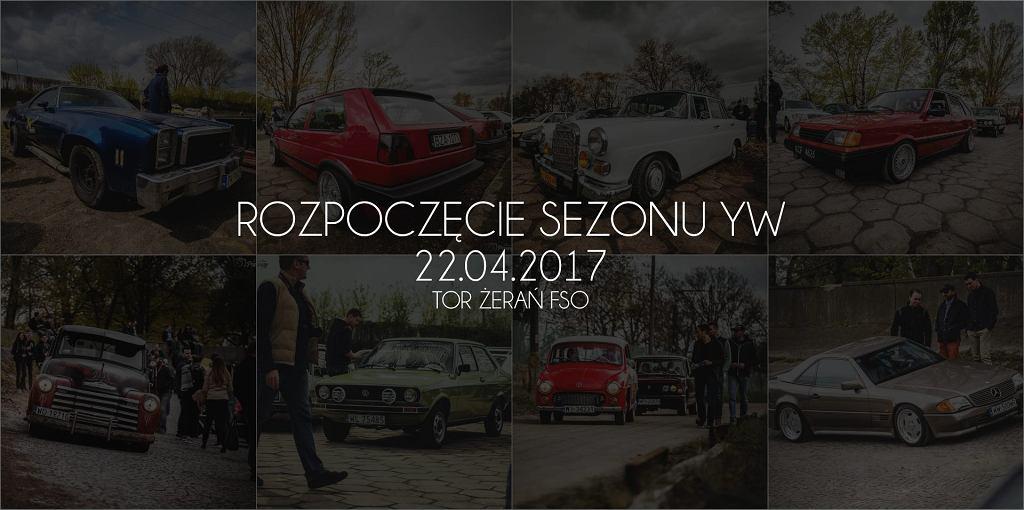 Rozpoczęcie Sezonu Youngtimer Warsaw 2017
