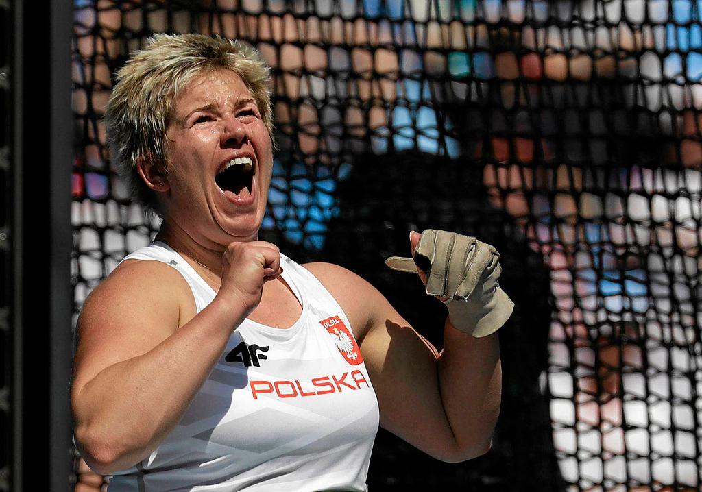 Anita Włodarczyk mistrzynią olimpijską z nowym rekordem świata!