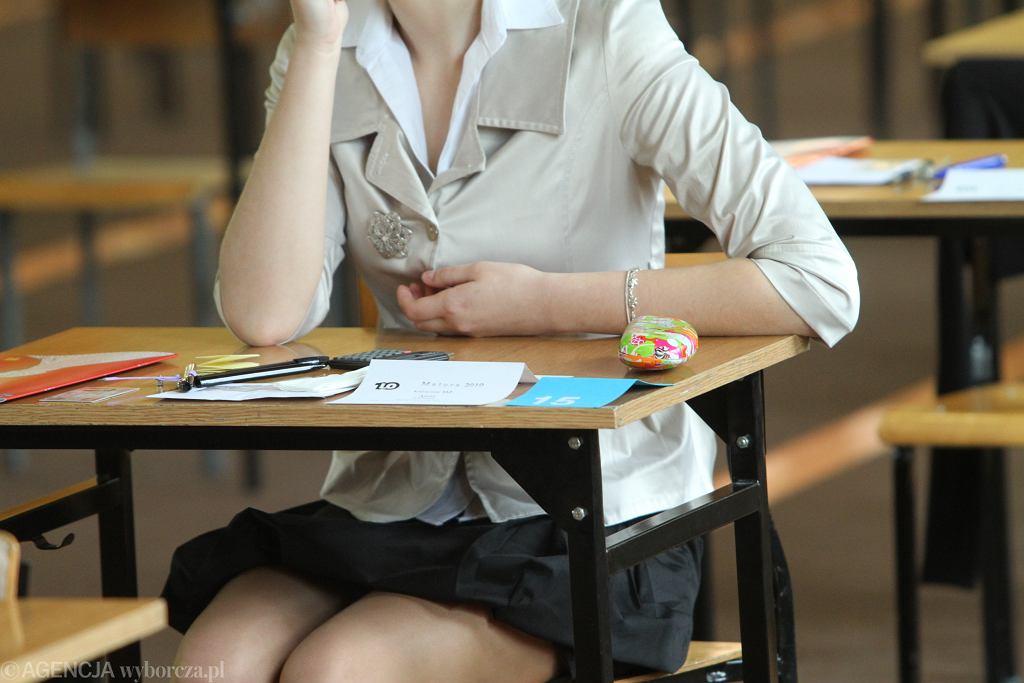 Próbna matura z matematyki 2021. Co ze sobą zabrać i ile potrwa egzamin?