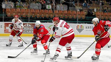 Reprezentacja Polski w hokeju na lodzie w katowickim Spodku