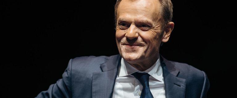 Donald Tusk komentuje zajście pomiędzy rolnikami a premierem Morawieckim