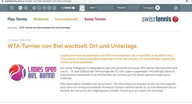 Association suisse de tennis