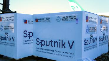 Transport Sputnik V - zdjęcie ilustracyjne