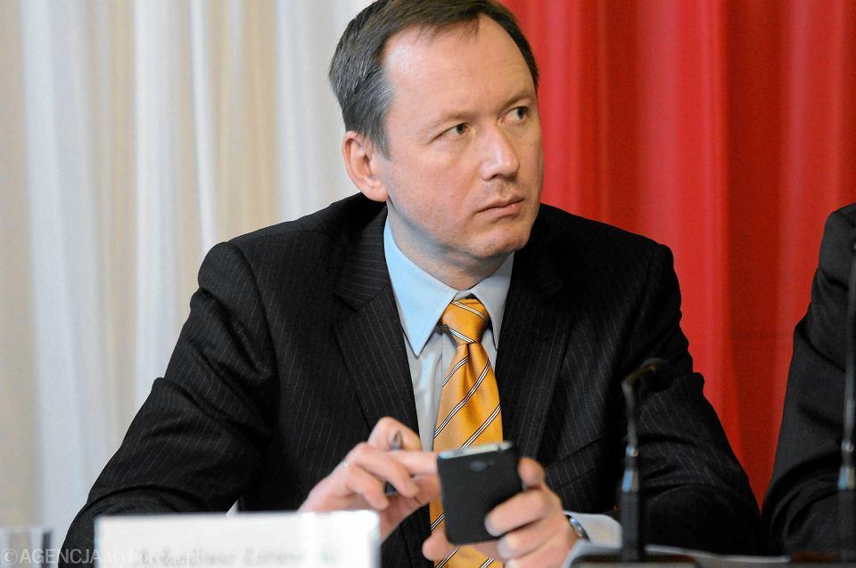 Arkadiusz Litwiński w 2015 r. - jeszcze jako przewodniczący Zachodniopomorskiego Zespołu Parlamentarnego z PO