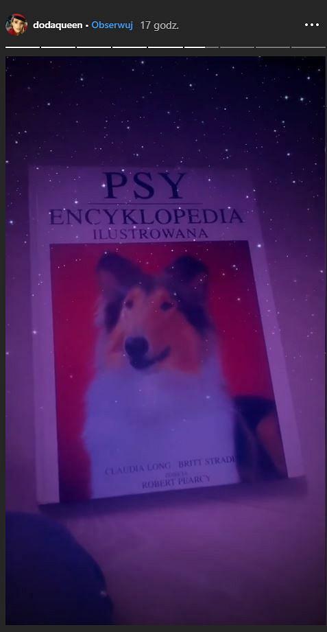 'Psy. Encyklopedia ilustrowana'. Prezent, który Doda dostała na Komunię