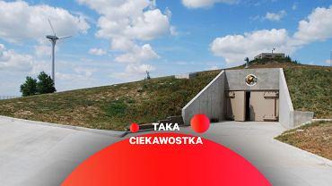 Wejście do bunkra w silosie rakietowy