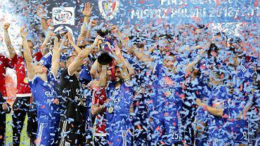 Piast Gliwice mistrzem Polski! Nie było lepszego od śląskiego klubu w sezonie 2018/19. Zespół trenera Waldemara Fornalika przypieczętował sukces wygraną z Lechem Poznań (1:0).