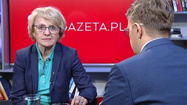 Danuta Huebner w Porannej rozmowie Gazeta.pl