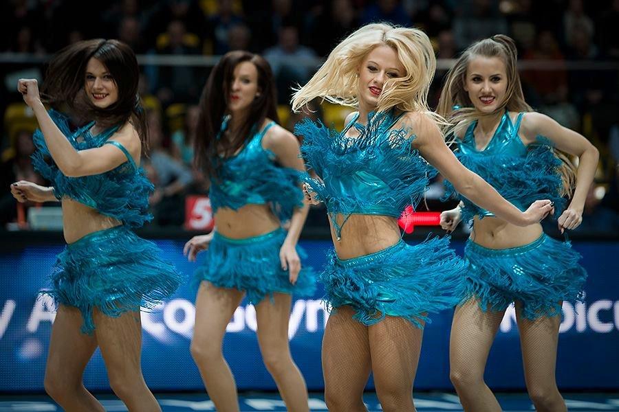 Cheerleaders Gdynia.