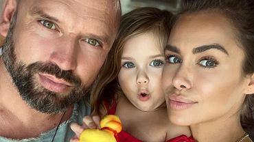 Natalia Siwiec z rodziną