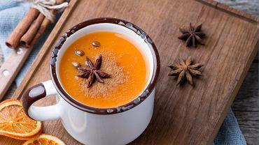 Zupa krem z dyni i gruszki