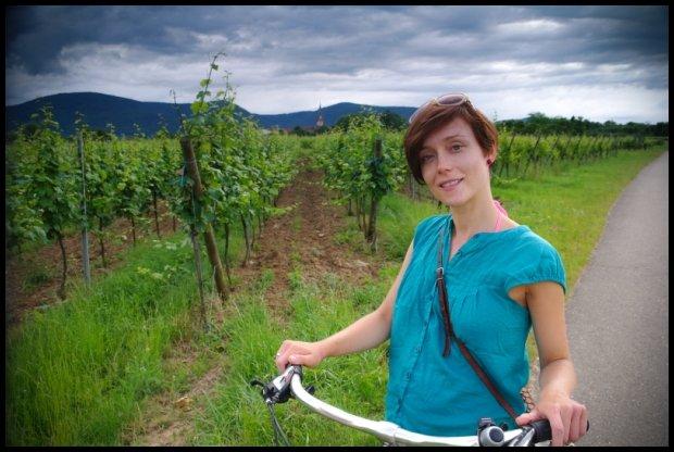 Rower w ciąży - czemu nie? (Fot. Archiwum prywatne autorki)