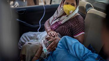 Dramatyczna sytuacja w Indiach. Brakuje tlenu